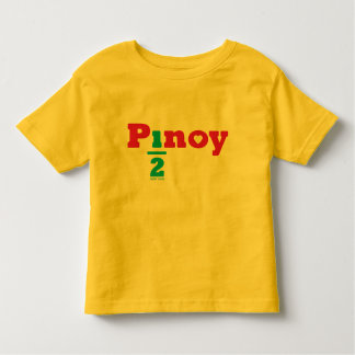 one_half pinoy toddler t-shirt