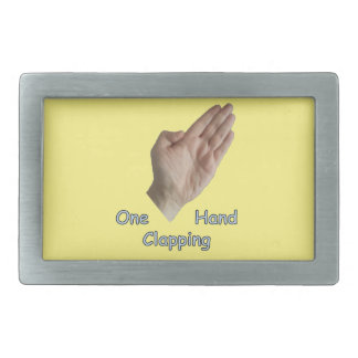 One Hand Clapping Belt Buckle