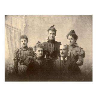 One Happy Family Postcard