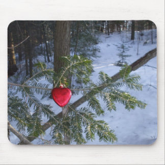 One Heart Country Valentine Mouse Pad
