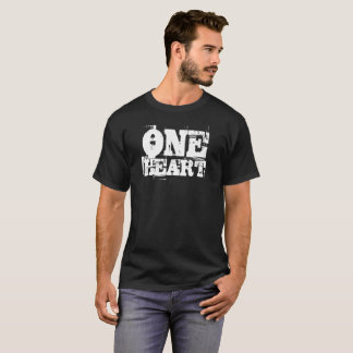 ONE HEART Shirt - Black