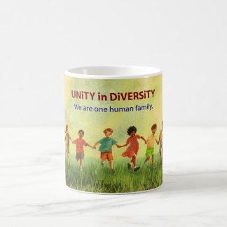 One Human Family Classic White Coffee Mug