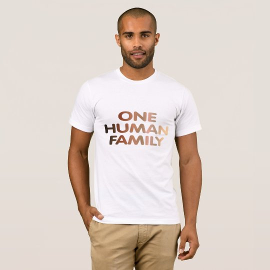 One Human Family T-Shirt