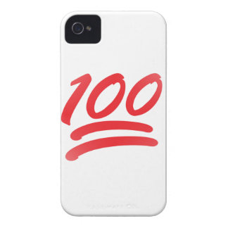 one hundred emoji iPhone 4 cover