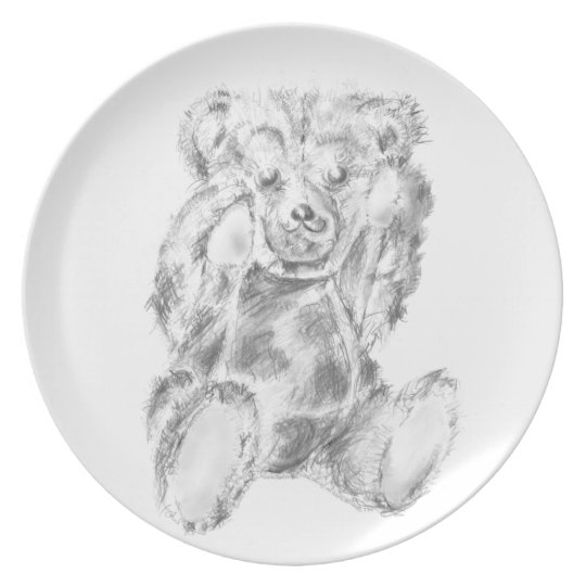 One Hungry Bear Plate