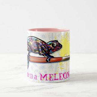 One in a Meleon daughter Two-Tone Coffee Mug