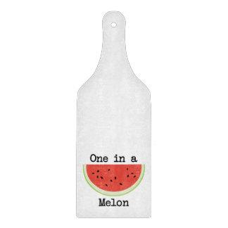 One in a Melon Cutting Board