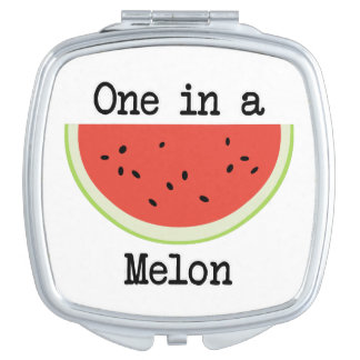 One in a Melon Makeup Mirror