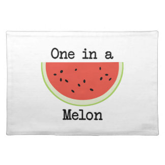 One in a Melon Placemat