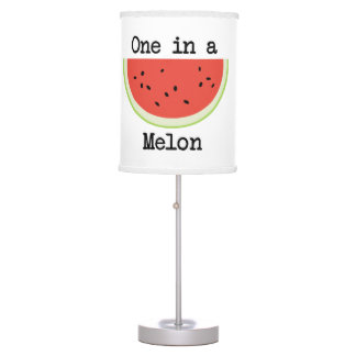 One in a Melon Table Lamp