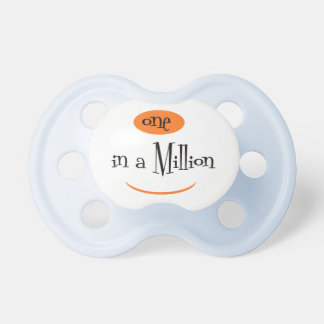 ONE IN A MILLION2 BooginHead® CustomPacifier 0-6 M Pacifier