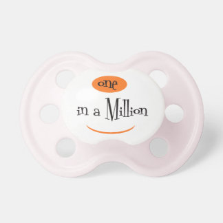 ONE IN A MILLION3 BooginHead® CustomPacifier 0-6 M Baby Pacifier
