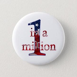 One In A Million 2 Inch Round Button