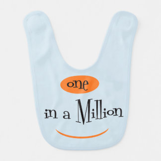 ONE IN A MILLION  Baby Bib
