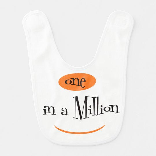 ONE IN A MILLION  Baby Bib 2