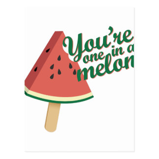 One In Melon Postcard
