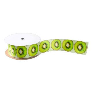 one kiwi customizable satin ribbon