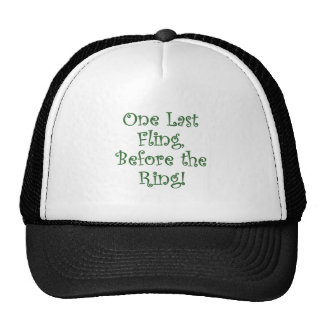One Last Fling Before the Ring Mesh Hats