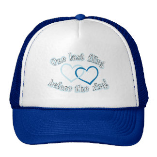 One Last Fling Before the Ring Trucker Hat