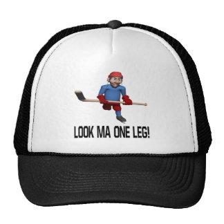 One Leg Trucker Hats