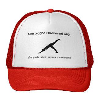 One Legged Downward Dog.pdf Trucker Hat