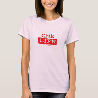 ONE LIFE. NO ENCORE (red) T-Shirt