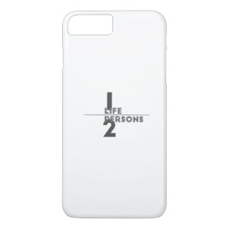 one life two persons iPhone 8 plus/7 plus case