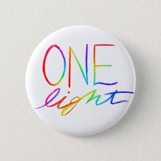 One Light Inspirational Rainbow Words Pin Buttons