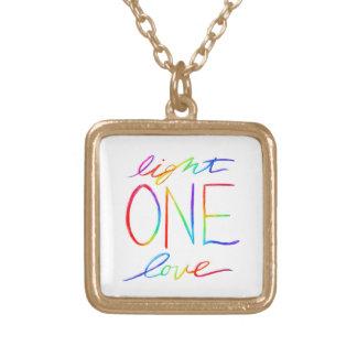 One Light & Love Custom Jewelry Pendant Necklaces
