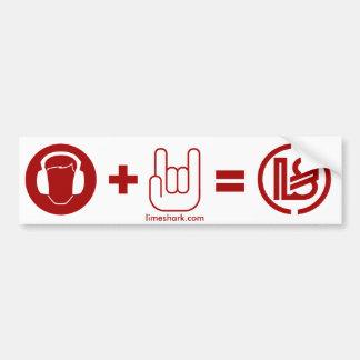 one, limeshark.com bumper sticker