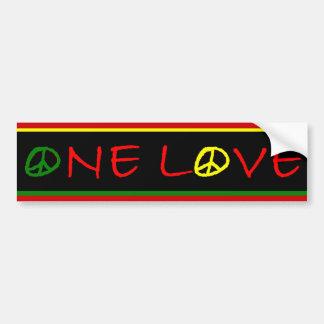 One Love Bumper Sticker