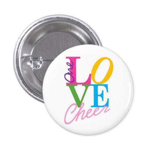 One Love Cheer Button