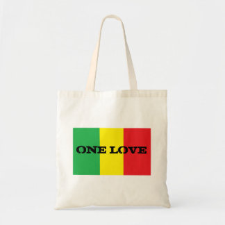 One Love Design Rasta Tote Bag