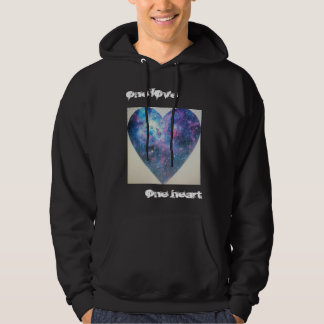 one love one heart hoodie