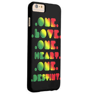 ONE LOVE, ONE HEART, ONE DESTINY. BARELY THERE iPhone 6 PLUS CASE