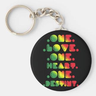 ONE LOVE, ONE HEART, ONE DESTINY KEYCHAIN