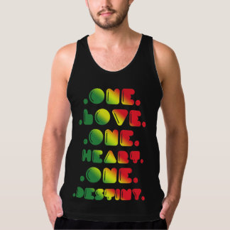 ONE LOVE, ONE HEART, ONE DESTINY. TANK TOP
