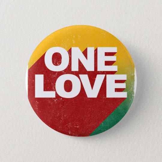 One Love Poster 2 Inch Round Button
