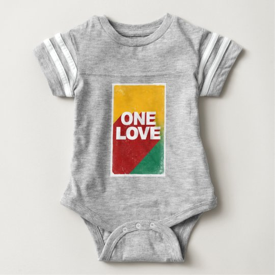 One Love Poster Baby Bodysuit