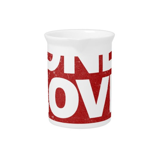 One Love Poster Beverage Pitchers