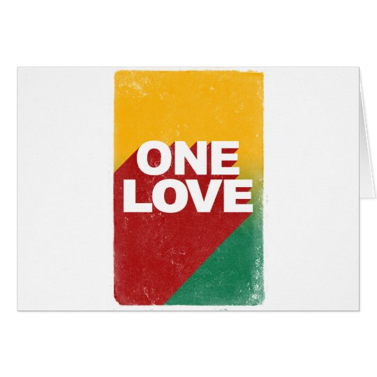One Love Poster Card
