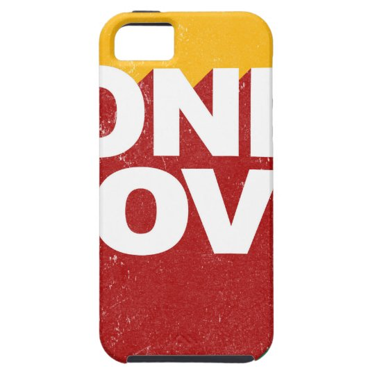 One Love Poster Case For The iPhone 5