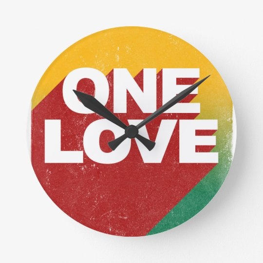 One Love Poster Clock