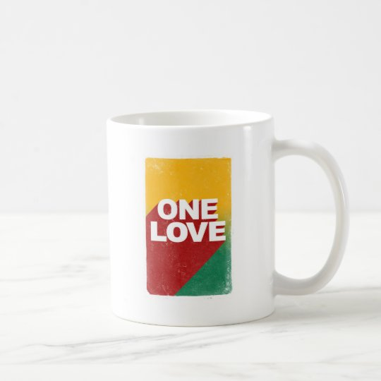 One Love Poster Coffee Mug