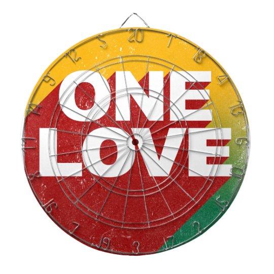 One Love Poster Dartboard