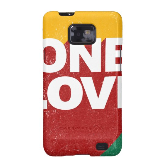One Love Poster Galaxy SII Case