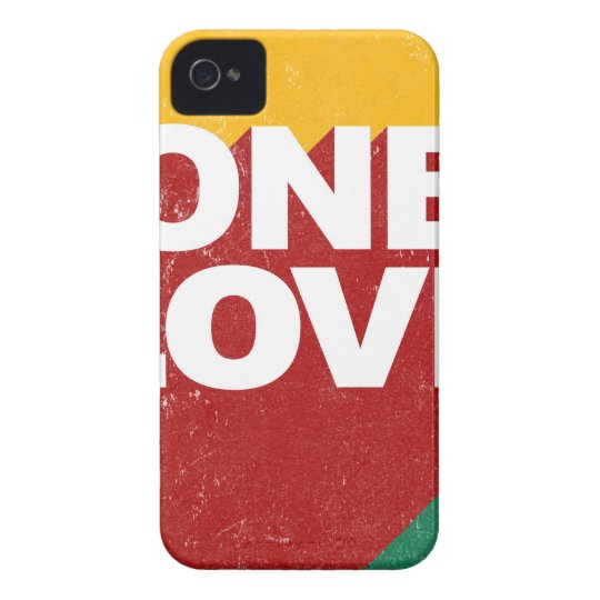 One Love Poster iPhone 4 Case-Mate Case