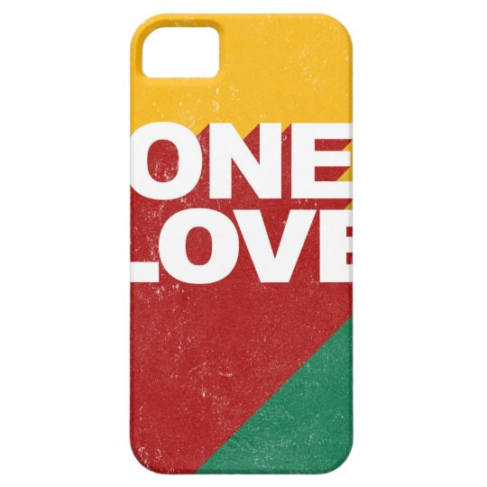 One Love Poster iPhone 5 Cases