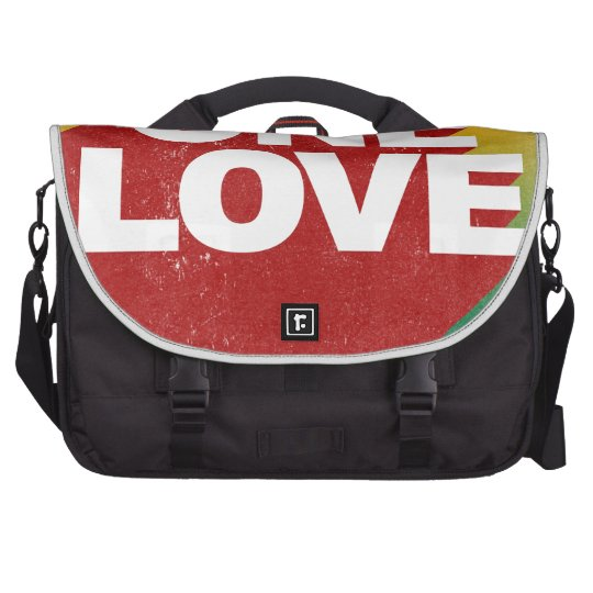One Love Poster Laptop Shoulder Bag
