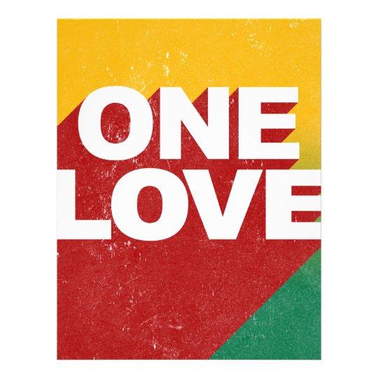 One Love Poster Letterhead